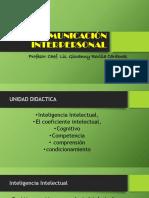 Comunicación Interpersonal Clase 10
