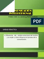 Comunicación Interpersonal Clase 13