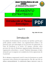 Clase 01 Introduccion Al Planeamiento Estrategico