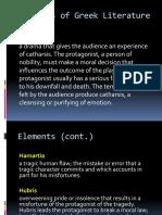 Elements of Greek Literature