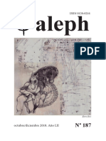 Revista Aleph No. 187. Octubre-Diciembre 2018