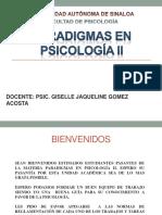 Paradigmas en Psicología II Actualizado