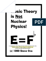 Music Theory is Not Nuclear Physics