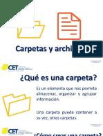 carpetas y archivos