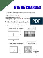 Exemple de Descente de Charges (1)
