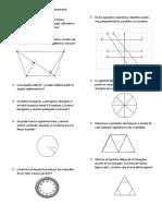 problemas de geometria