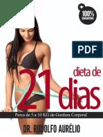 Livro de Receitas - Dieta de 21 Dias