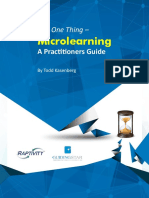 GuidingStar Just One Thing Microlearning a Practitioners Guide
