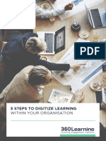 360Learning 5 Steps to Digitize Learning Within Your Organisation
