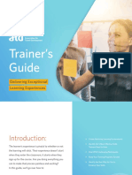 ATD Trainers Guide Delivering Exceptional Learning Experiences