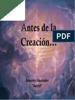 Antes de La Creacion