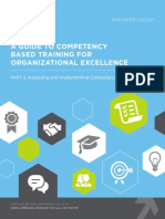 Lambda Solutions a Guide to Competency Based Training for Organizational Excellence Part 2