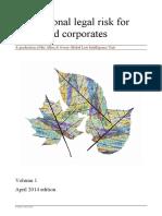 International Legal Risk Volume 1