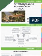 prevencion de la contaminacion del agua