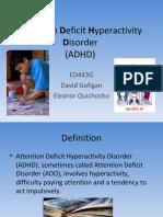 3. ADHD