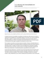 Br.financas.yahoo.com-Bolsonaro Propõe a Cobrança de Mensalidade Em Universidade Federal Entenda