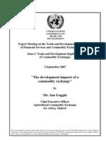 Commodity Exchange UNCTAD