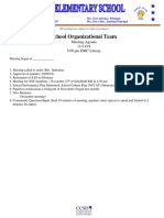 SOT Mtg Agenda 11-13-18