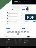 AMD 1950X + MSI X399 G-Pro Carbon + 32 GB (2x16) 3000 Mhz RAM + Kingston 960 GB KC1000 SSD + Seagate 6 TB Pro HDD + Seasonic 750W Focus GOLD PSU + TT Floe Riing 240mm Soğutma - Sinerji Bilgisayar - 15.822,26 TL