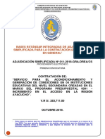 Bases Integradas Mantenimiento Acceso Secundaria 2830000