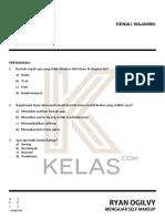 Workbook Kenali Wajahmu