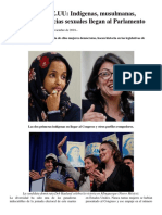 Elecciones en EEUU Indígenas Musulmanas Negras y Disidencias Sexuales Llegan Al Parlamento