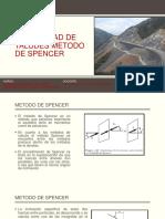 Estabilidad de Taludes Metodo Spencer