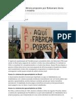 Fup.org.Br-Modelo de Previdência Proposto Por Bolsonaro Levou Idosos Do Chile à Miséria