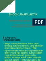 Hypersensitif Shock Anafilaktik