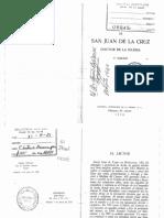 1. San Juan de La Cruz. Subida Al Monte Carmelo