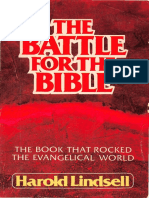 The Battle for the Bible - Harold Lindsell