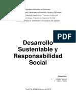 Desarrollo Sustentable y Responsabilidad Social