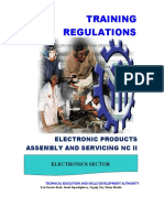 TR-Electronic Products Assembly and Servicing NC II