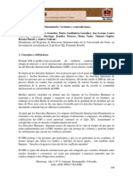 Derecho Internacional Humanitario, Verdades y Contradicciones