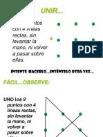 Unir 9 Puntos Con 4 Lineas