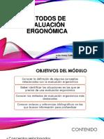 Métodos de Evaluación Ergonómica