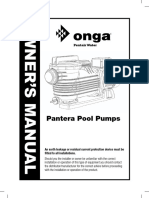 Onga PPP 750 Manual