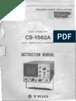 Osciloscopio TRIO CS-1562A - 1