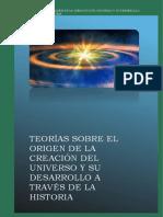 Practica Word 1 Teoría Del Origen Del Universo