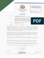 Reglamento Gerneral de Lectura y Escritura Bolivia