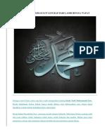 Kisah Nabi Muhammad Saw Lengkap Dari Lahir Hingga Wafat