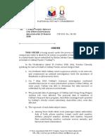 NPC Order - Cathay Pacific