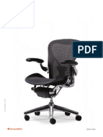 Aeron Chairs Brochure