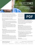 Deprescribing Guidelines Elderly Fact Sheet