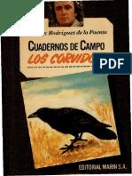 Cuadernos de Campo 17 F R de La Fuente Los Corvidos Marin 1978