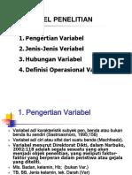 6 Variabel Dan Skala
