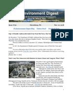 Pa Environment Digest Nov. 12, 2018