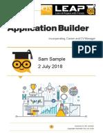 Sam Sample Application Builder