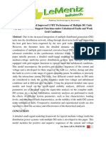 Dynamic Analysis and Improved LVRT Performance of Multiple DG Units Equipped With Grid-Support Functions Under Unbalanced Faults and Weak Grid Conditions