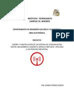 Proyecto Para Redes de Comunicacion Industrial